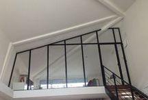 Verrières d'intérieures sur mesure / Quelques réalisations de verrière d'intérieure fabriqué dans nos locaux près de Lyon. Ces cloisons vitrées donnent une sensation d'espace à votre intérieur et apportent une véritable touche esthétique à votre habitat.