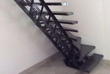 Escaliers Design / Nous réalisons des escaliers design à structure métallique au style moderne et contemporain pour satisfaire votre habitat.