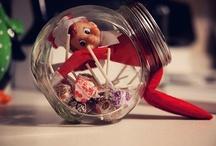 Elf on a shelf ideas / by Emily Akers