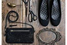 Nuit étoilée / Un cuir noir dans notre gamme de couleurs les pétillants ! BLACK is CHIC