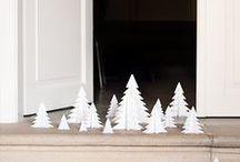 Christmas decoration / Christmas inspiration Des idées pour Noel