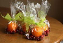 Goody Basket Ideas / Gift basket treats!