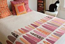 Inspring Quilts / Quilts I'm always inspired by how  fabrics can be cut and sewn and quilted into a treasure.   / by Saffron Craig