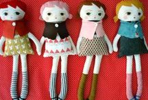 Couture Softies / Collecting beautiful hand crafted dolls and other softies.  / by Saffron Craig