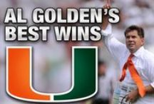 Fear The Tie / Al Golden does it best  / by Miami Hurricanes