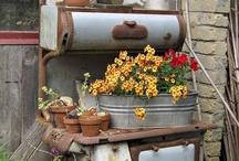 Gardens / gardens,garden decorating,garden junk,home and garden,flowers,gardens / by Kathy Clark