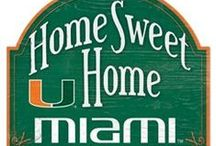 Hurricanes Home / Home ideas and gifts for any avid Miami Hurricanes fan / by Miami Hurricanes