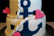 Elisha's First Birthday Party / Anchors Aweigh / by Quynn Schaaphok