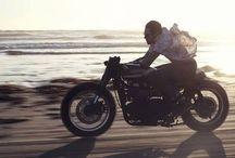 Café racer & / Café racer, scrambler, brat style, jap style, street tracker gauges ... motorcycles
