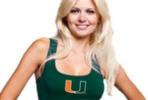 Canes Gear for Her / Stylish Hurricanes apparel and accessories for women    / by Miami Hurricanes