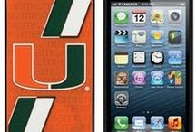 Gear For Your Gadgets / Cover your phone in Canes style / by Miami Hurricanes