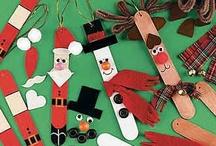 Christmas craft ideas / by Joyce Pare'