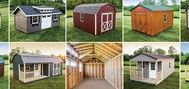 "Storage and Garden Sheds – Woodtex / In 30 years, Woodtex has grown from a ""mom and pop"" shop in New York to the preferred nationwide builder of Storage Sheds, Garages, and Cabins. It's no surprise that Woodtex is the trusted builder of HGTV Fixer Upper stars, Chip & Joanna Gaines."
