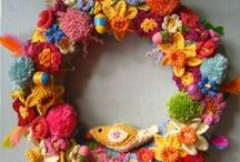 Gardens Yarn Bomb