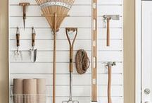 Organized Chaos / Pretty much every organization idea we wish we had thought of first. But they would go nicely with a storage shed, garage, or any Woodtex really.