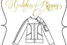 Golden Rippy / Sewing projects, tutorials, reviews, and free printable for fashion designers from Golden Rippy. All in one place!