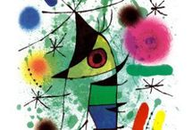 Miro / His Art and things inspired by it