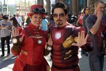 Wonder Woman and Iron Man / Cosplay Inspiration