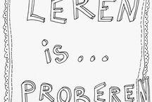 leren / Leven lang leren