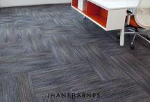 """Haywire"" Tandus Centiva Carpet designed by Jhane Barnes / Haywire 04364"