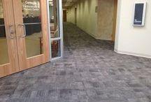 """Aftermath ll""Tandus Centiva Carpet designed by Jhane Barnes / Aftermath ll 03026"
