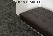 """Trajectory"" Tandus Centiva Carpet designed by Jhane Barnes / Trajectory 03913"