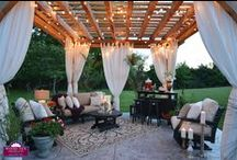 Outdoor Living LOVE! / We have a thing for backyards, patios, and outdoor furniture.