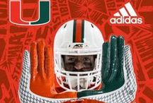 adidas Uniforms Unveiled / The 2015 Miami Hurricanes uniforms game-ready from adidas  / by Miami Hurricanes