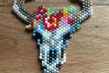 Grilles Kawai / Tissages perles brick stitch