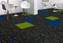 """""""2nd Power & SquareUp"""" (Tile) Tandus Centiva Carpet designed by Jhane Barnes / 2nd Power & SquareUp tile"""