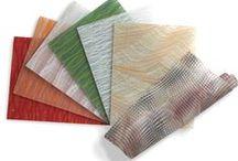 Jhane Barnes designs for LUMICOR / Resin Panels