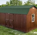 The Lincoln - Shed / https://www.woodtex.com/sheds/lincoln-storage-shed/