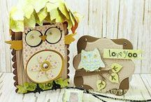 Owly Hoo Stamps / The Owly Hoo Stamp set is from K Andrew Designs http://kandrewdesigns.com/