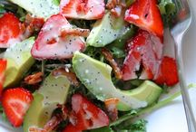 Healthy & Fresh Eats : Food / Salads: Veggies: Healthy Options / by Tami Scott
