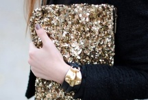 LAV'S ♡ Gold & Glitters / Fashion in glitters and gold. - Everything that shines can make a woman a star!