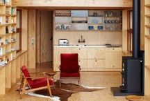 Small Living Spaces / Apartment, studio, cabins, shipping container and granny flat ideas.