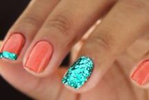 nail designs & colors / by Angelica Asbury