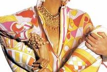 Emilio Pucci / Pucci's classic patterns and bold colors lift my spirits by more than a few notches