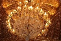 CHANDELIERS, PERFECTION WITH JUST ONE PIECE! / A chandelier is the one piece that can change an ordinary room into PERFECTION! / by Martha Patricia James
