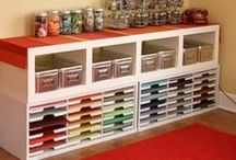 Creative dens - Storage / #crafts #supplies #storage #inspiration #ideas #solutions / by Think Orange