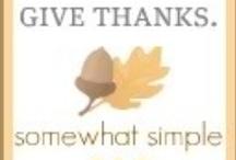 hosting thanksgiving! / by Megan Wells