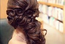 Wedding Hair / Gorgeous locks for the Bride and Bridal Party / by Rachel Bailey