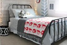 Boy Bedrooms / Dazzling ideas, tips, and DIY for decorating a boy bedroom.