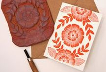Crafty ideas - Stamp carving