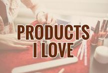 Products I Love / Here's the list of the products I love.