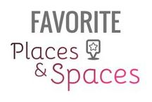 Favorite Places & Spaces / Here's some of my favorite places and spaces from my previous travels.