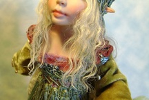 My Artdolls / OOAK Hand-Sculpted by me, Poppenmoon / by Tricia Lancia