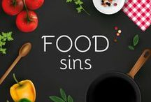 Food Sins / Indulge your palate with these heavenly tasting food.