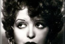 "~*Clara Bow*~ / ""All the time the flapper is laughin' and dancin', there's a feelin' of tragedy underneath…""
