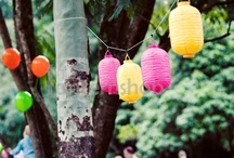 Paper Lanterns & Wedding Decorations / Chinese paper lanterns, wedding lighting and party decoration ideas from around the web.